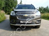 Решётка радиатора нижняя 12 мм для Chevrolet TrailBlaizer 2013-